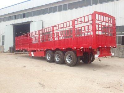 13米轻体仓栅式运输半挂车厂