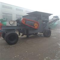 移动式制沙机 鹅卵石细碎机 加重制沙机生产 煤矸石制砂机