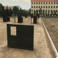 唐山400米障碍设施实物图 部队400米障碍