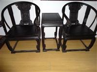 紫檀木圈椅上门交易能卖到多少钱