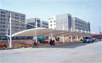 厂家供应山东济南停车棚 定制安装钢膜结构汽车遮阳蓬 电瓶车篷