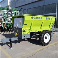 大連雨林廠家直銷 新型農用撒糞車 拖拉機牽引撒糞機