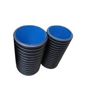 甘肅HDPE雙壁波紋管廠家直銷 大口徑塑料波紋管批發