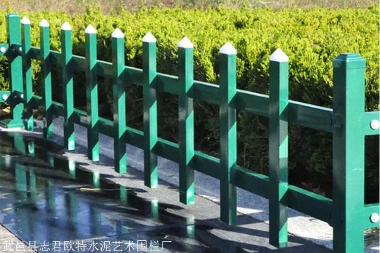 唐山开平锌钢草坪围栏锌钢草坪护栏绿化带护栏致电