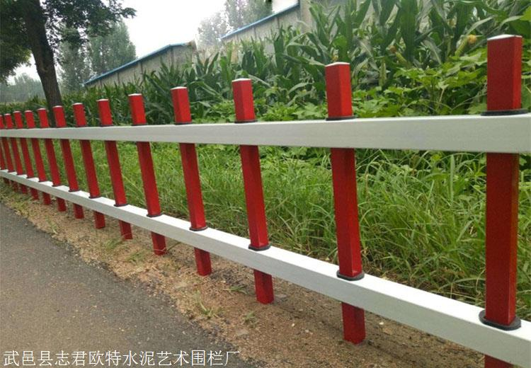 昌平锌钢草坪围栏锌钢草坪护栏绿化带护栏加工