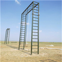 甘肃部队独木桥推荐 军事百米障碍器材