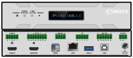 分布式系统-4K输出节点