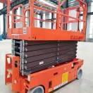 移动铝合金升降机、安全可靠、设置到位