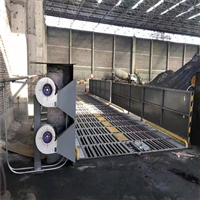 陽江料廠降塵噴淋洗車平臺高品質
