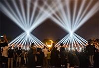 夜游经济大趋势下,文旅灯光秀成为新型商业模式