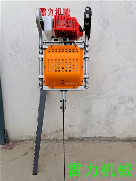 铲头式汽油挖树机工作成本低