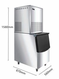 山东淄博80公斤菱形冰块制冰机