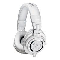 直播設備鐵三角ATH-M50xWH專業耳機