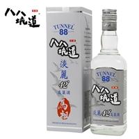 臺灣高粱酒 八八坑道淡麗42度 600ml典藏清香型白酒 送禮整箱