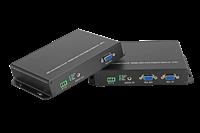 VGA光端機+本地輸出環出+串口RS232+音頻3.5mm