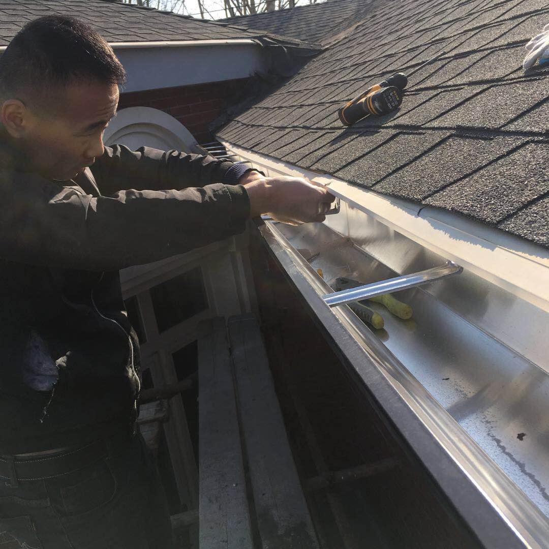遼寧鋁合金排水槽金屬天溝屋檐落水槽排水