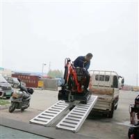大象牌3.2米小微挖机专用铝爬梯