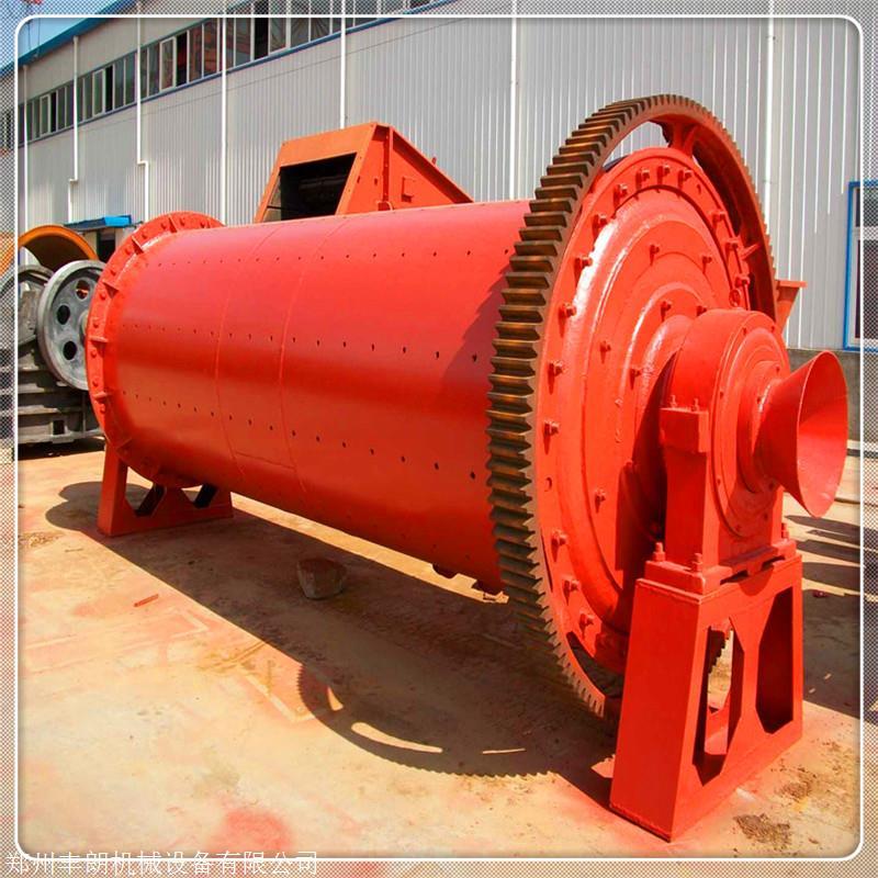 900x2100型球磨机 有色金属棒磨机 土壤磨粉机