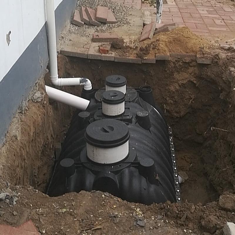 陜西三格化糞池廠家 戶廁無害化改造三格式化糞池