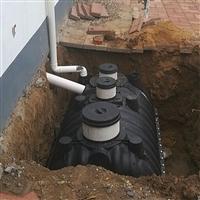 1.5立方三格式化粪池 旱厕改造化粪池 家庭三格式化粪池