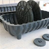 焦作塑料化粪池厂家 长阳农村厕所三格化粪池 厕所改造厕具