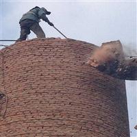 包頭市50米磚煙囪拆除 煙囪加固