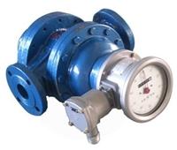 防爆型重油流量计 指示型双转子流量计