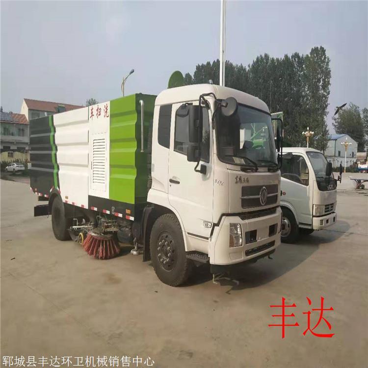 二手柴油扫路车价格东风多利卡8方洗扫车