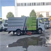 洗扫车扫路车价格转让二手东风多利卡扫路车