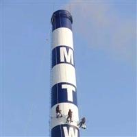丹东市烟囱涂刷航标漆