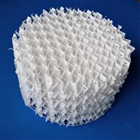 四氟填料PTFE四氟孔板波纹填料 四氟鲍尔环填料