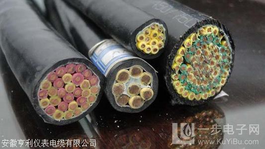 绝缘厚度1.0mm铜带绕包ZR-JFEPP2V-1信号电缆