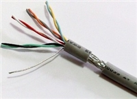 四线组单元组合750V直流JYVP3R信号电缆