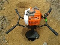 手提式挖坑机 钻孔打眼器价格 自动旋刀挖坑机手提