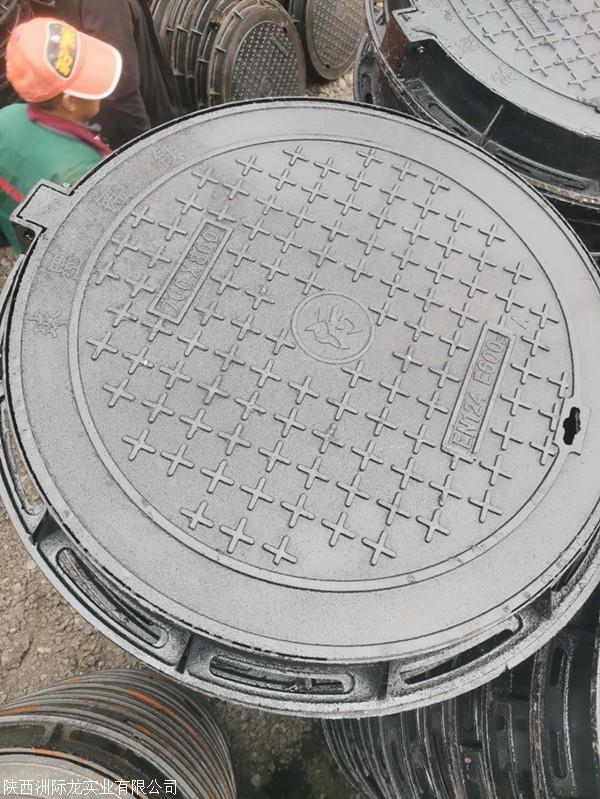 重型球墨铸铁井盖 市政雨水污水电力铸铁井盖 厂家直销