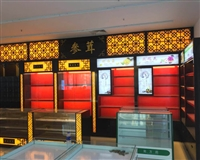 山東服裝展柜工廠,展柜設計制作,原生態板材烤漆展柜源頭廠家
