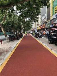 汉中市彩色防滑路面