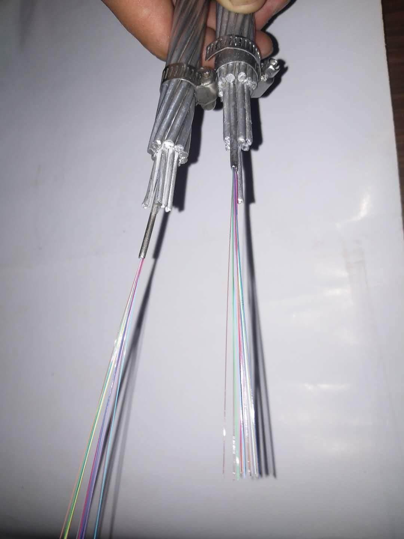 opgw光缆 电力光缆厂家 河北大征现货OPGW-48B1-100