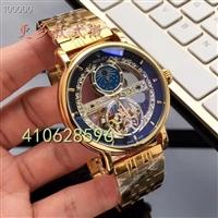 品牌时尚男士手表 机械飞轮皮带手表