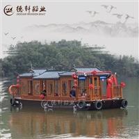 南京哪里10米画舫船 电动观光船厂家