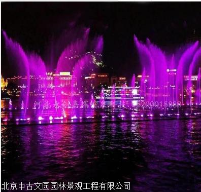 喷泉建设施工 假山喷泉制作厂家