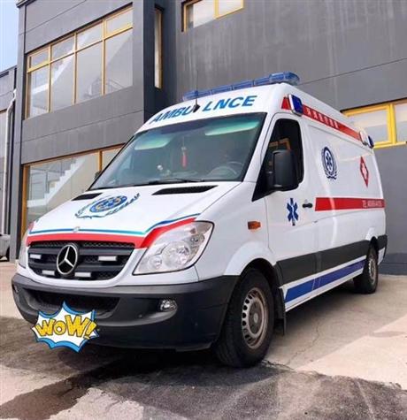 湛江市雷州市正规救护车出租病人接送