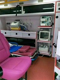 清远市清新县跨省救护车出租转运服务