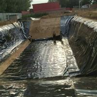 批发氧化塘 景观湖hdpe防渗膜厂家 荷花池复合土工膜价格图片