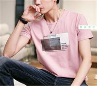 甘肃张掖市几元男装批发 一手货源批发 夏季男士T恤 便宜短袖