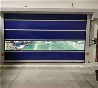 珠海PVC快速卷簾門自動感應安全性強安全防護