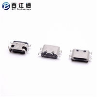 USB3.1type-c16P母座/超短体/板上四脚插板/单排贴片