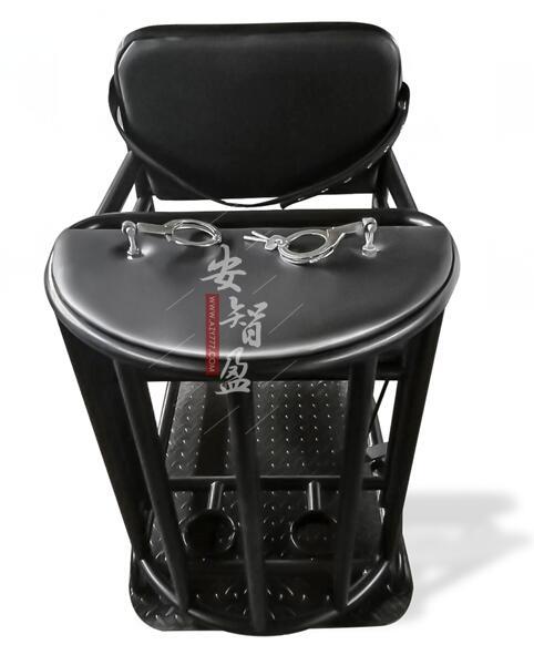 铁质审讯椅软包约束椅怎么使用