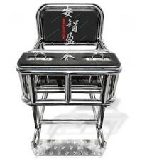 不锈钢审讯椅约束椅软包型