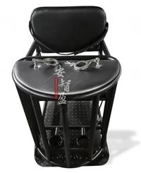 加固型铁制审讯椅模样,实用型审讯椅